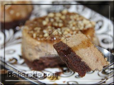 چیز کیک خرما و کارامل
