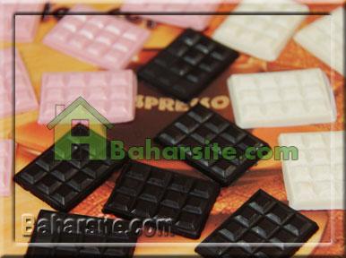 روش آب کردن شکلات
