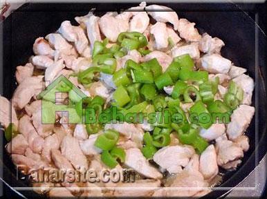 دونر کباب با مرغ