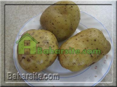 اسنک سیب زمینی