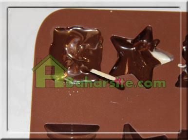 شکلات 2رنگ