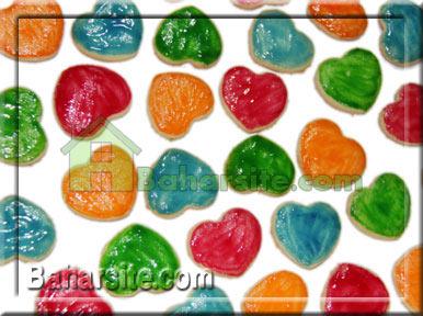 قلبهای رنگارنگ