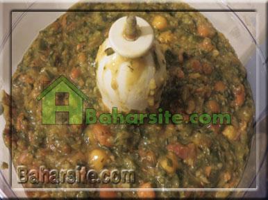 آش سبزی شیراز