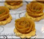 حلوا مجلسی به شکل گل رز