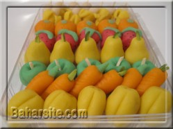 میوه های مارزیپان