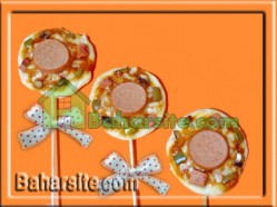 پیتزا چوبی