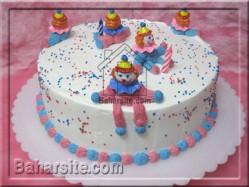 کیک دلقک