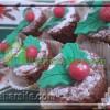 کیک های کوچولوی کریسمس