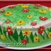 کیک بهاری