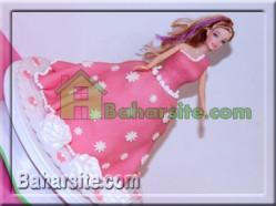 کیک باربی