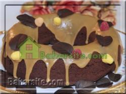 کیک با روکش باتر اسکاچ