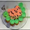 کاپ کیک با تزیین هندوانه