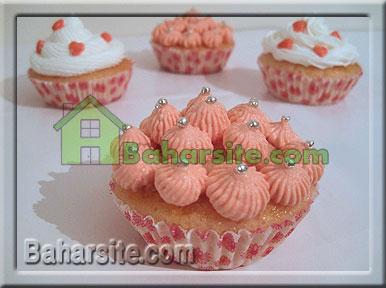 تزیین کاپ کیک 2